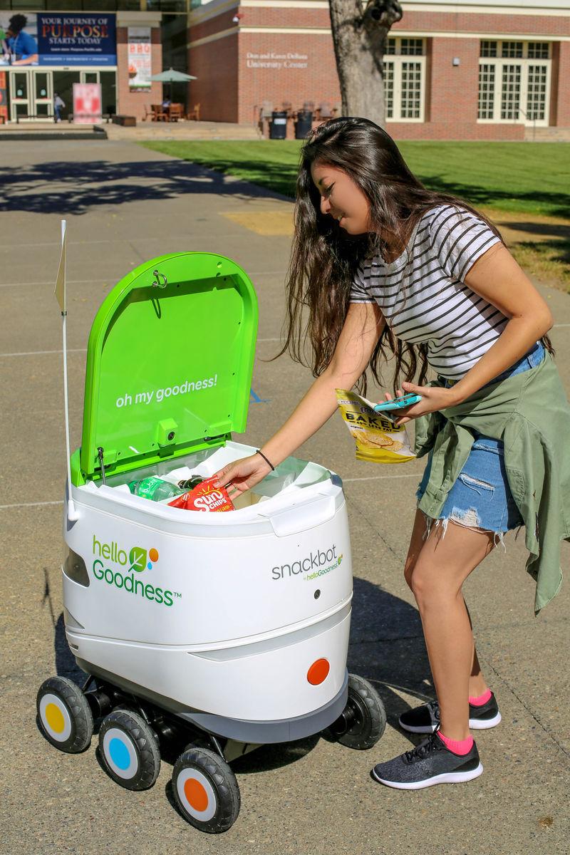 snackbots - Des robots pour livrer des collations PepsiCo