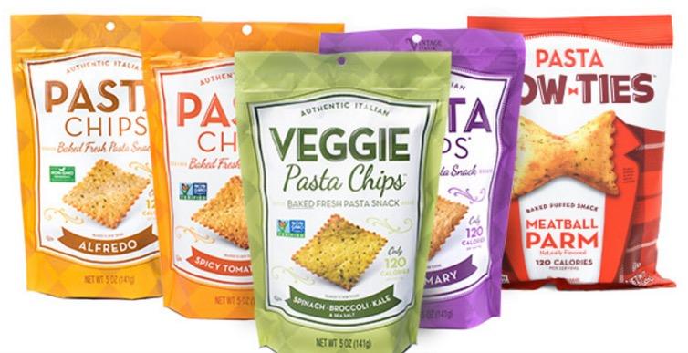1 1 - Des chips de pâtes italiennes - Pasta Snacks