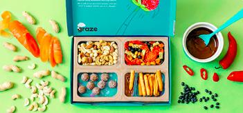 """Capture d'écran 2019 02 08 à 08.47.47 - Unilever rachète la marque anglaise de snacks sains """"Graze"""""""