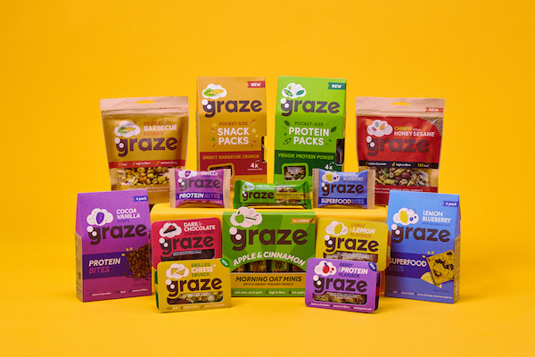 "graze instores content rectangle - Unilever rachète la marque anglaise de snacks sains ""Graze"""