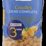 primeal 8728 coudes demi complets cuisson rapide 500g 2019 150x150 - Priméal propose de nouvelles pâtes !
