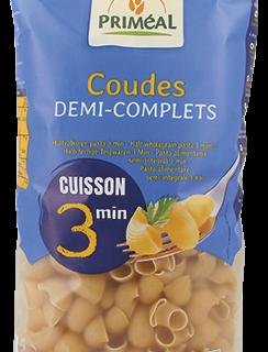 primeal 8728 coudes demi complets cuisson rapide 500g 2019 244x320 - Priméal propose de nouvelles pâtes !