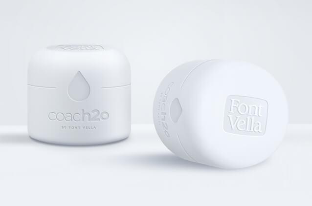 thumbnail coach2o - Font Vella (Danone) propose un bouchon intelligent sur ses bouteilles d'eau