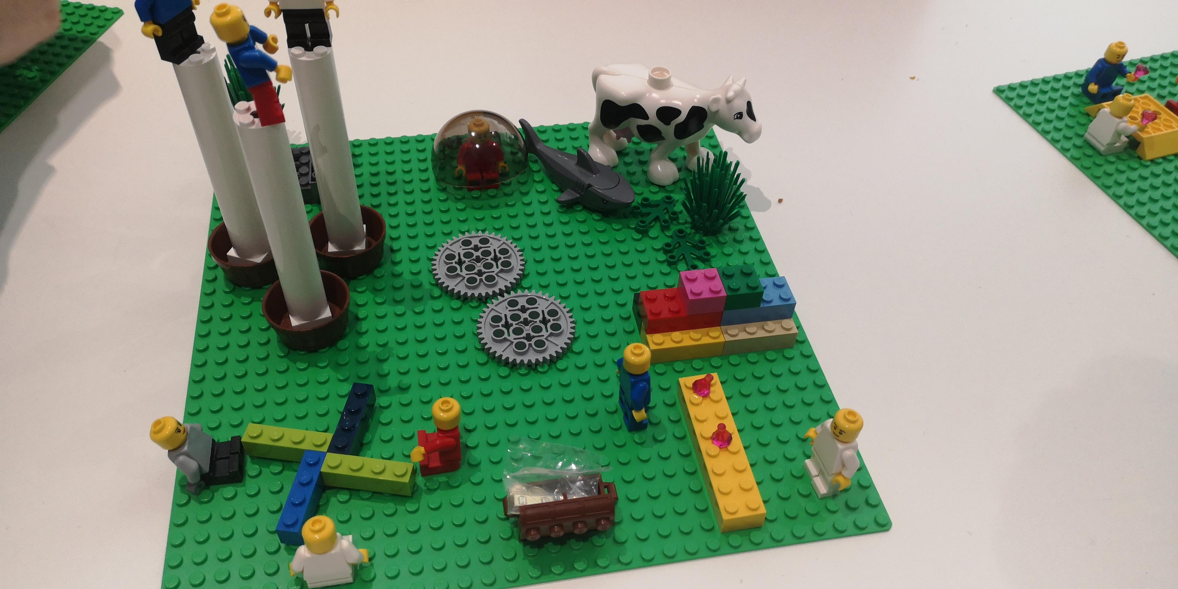 0 - Définir sa nouvelle gamme de produits alimentaires avec des Legos