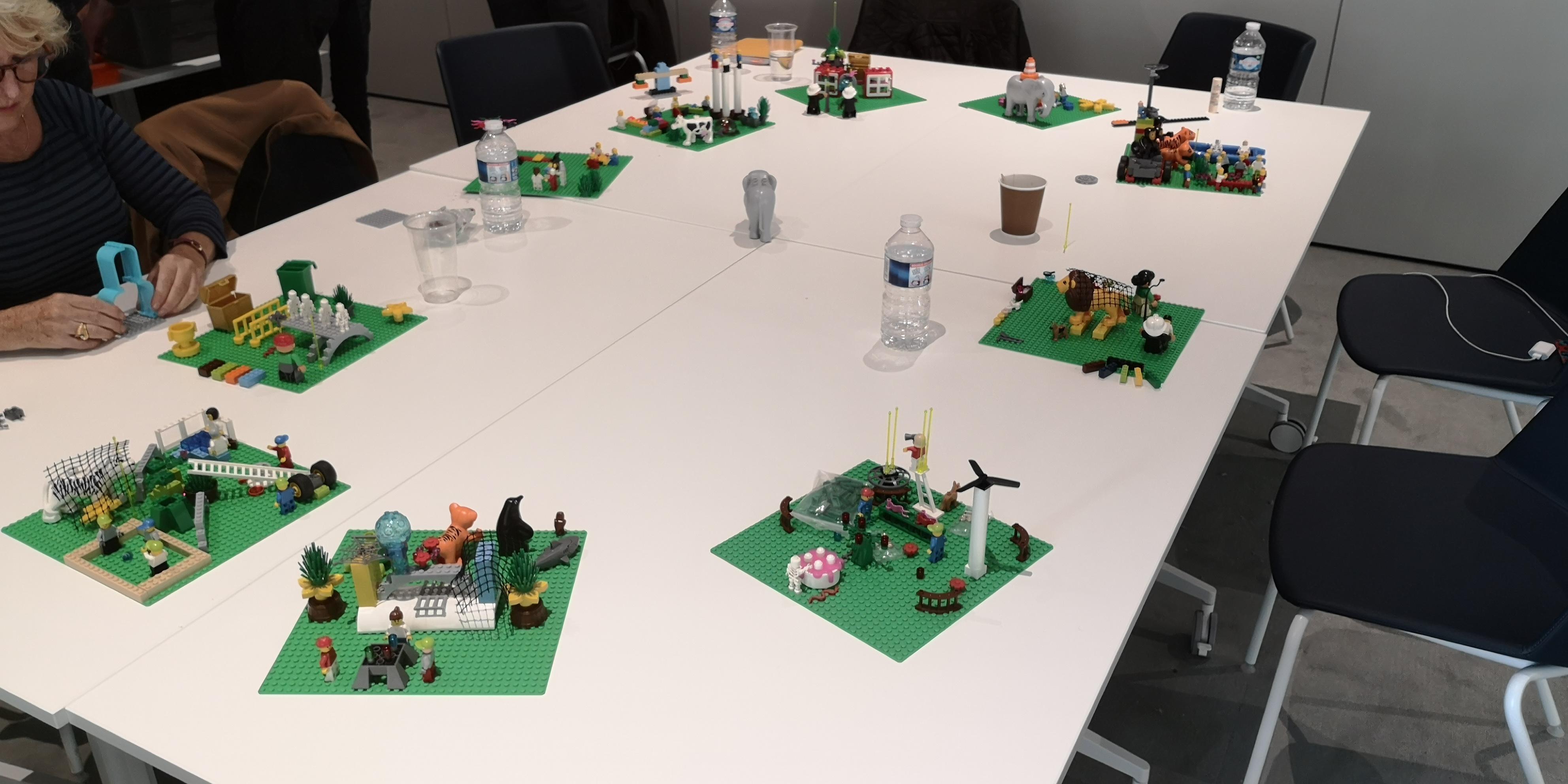 1 4 - Définir sa nouvelle gamme de produits alimentaires avec des Legos
