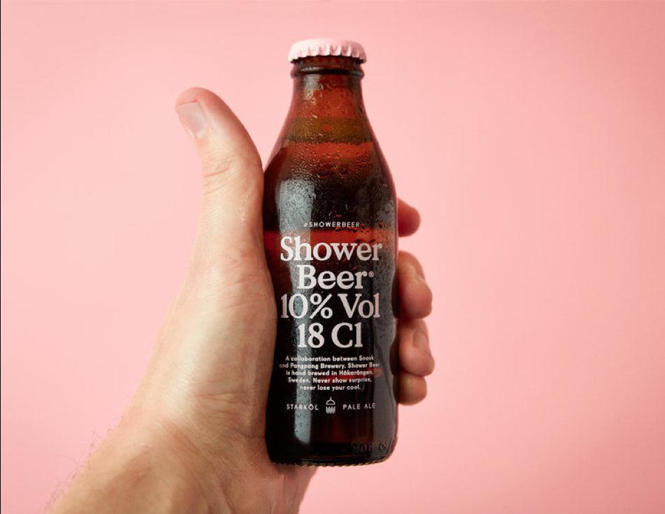 1 - Une bière de douche