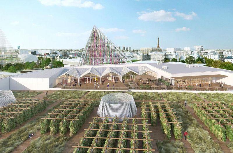 Large ferme urbaine - La plus grande ferme urbaine au monde à Paris