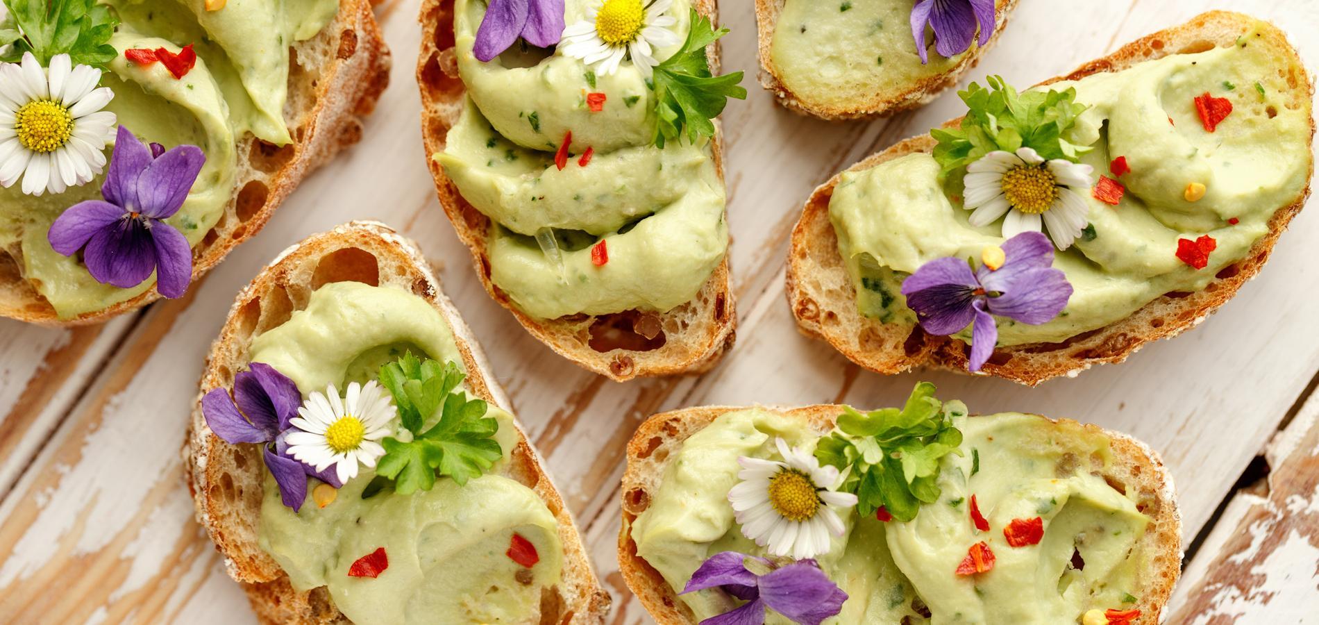 les fleurs comestibles - Le printemps est là, le Flower Power est de retour !