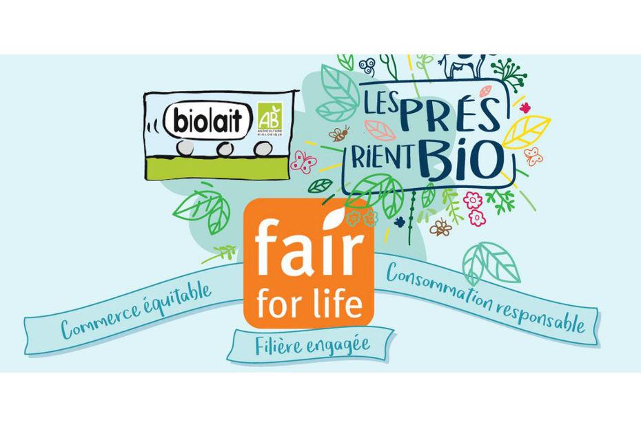 000338511 5 - Un label équitable, Fair For Life, pour les marques Les 2 Vaches et Faire Bien
