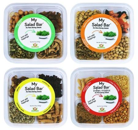 5 - Personnaliser sa salade à l'infini