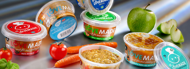 Baby food new kid on the block in SuperLock R product top - La marque qui aime les bébés