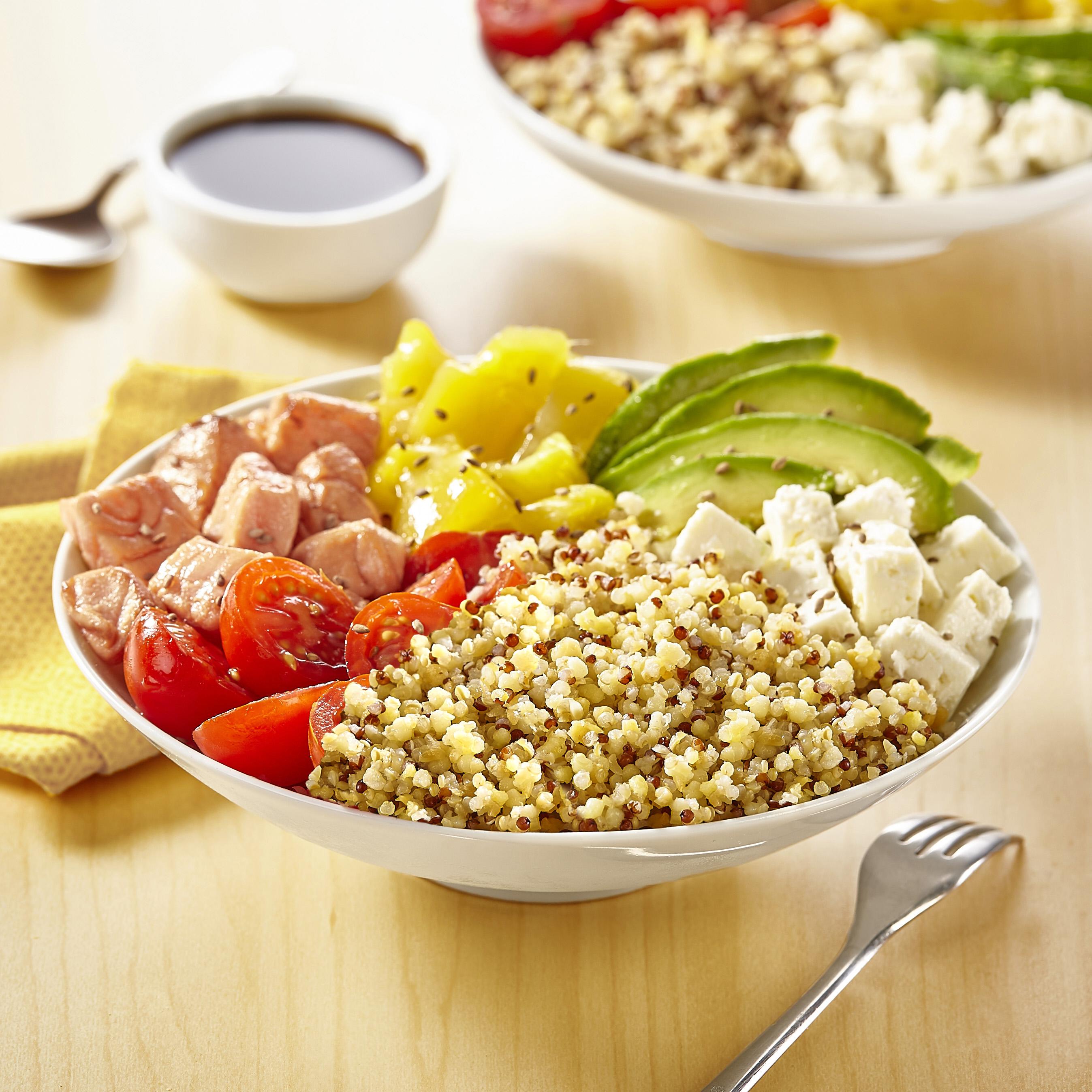C TIPIAK EXOTIC BOWL AU QUINOA DELICE HD - Tipiak innove avec Quinoa Délice en sachets cuisson