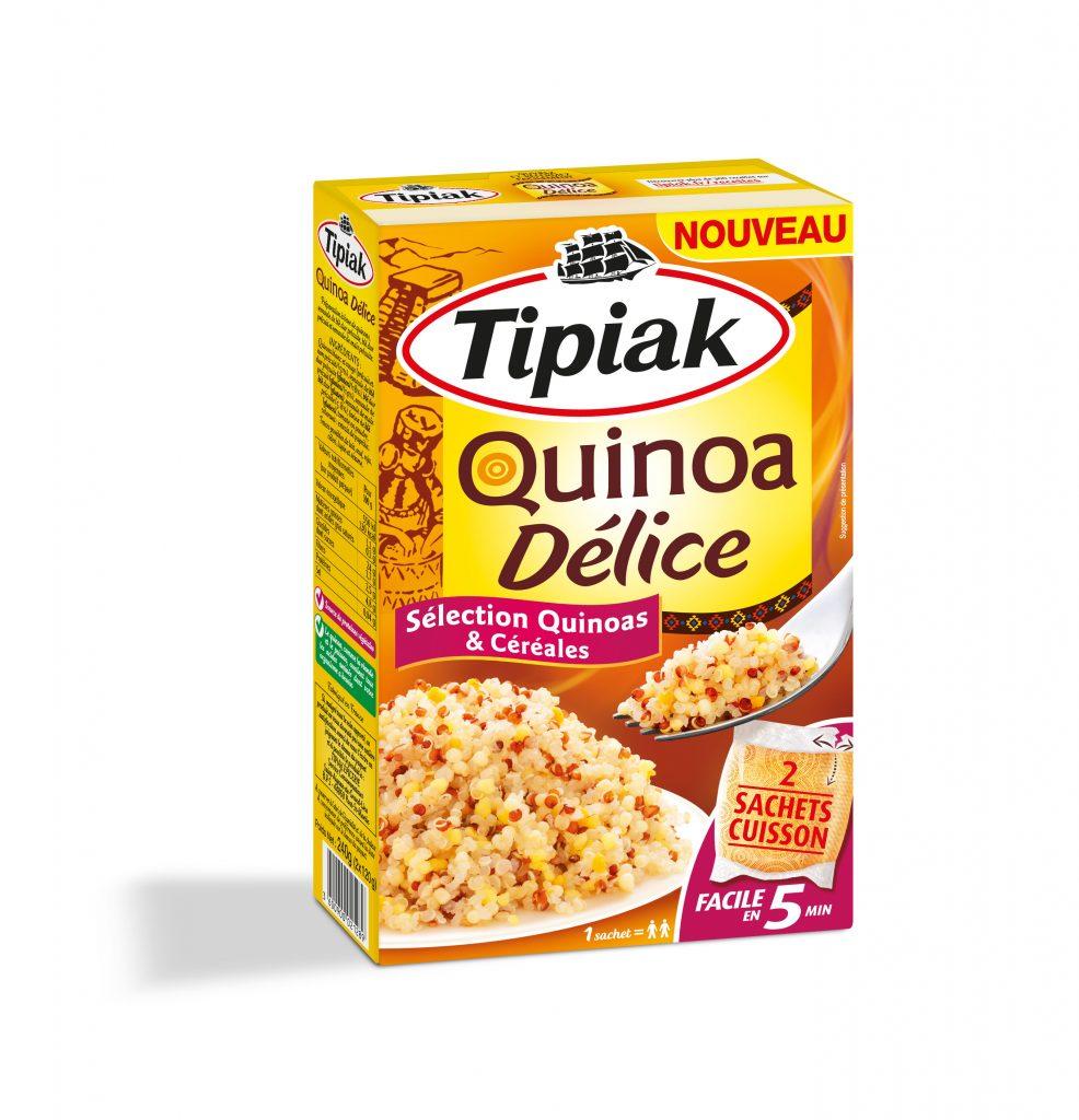 C TIPIAK QUINOA DELICE HD 986x1024 - Tipiak innove avec Quinoa Délice en sachets cuisson