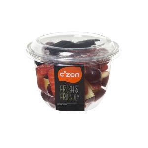 CZON cup pomme fruits rouges 300x300 - C'ZON propose le meilleur des fruits rouges dans une gamme de snackings pour l'été