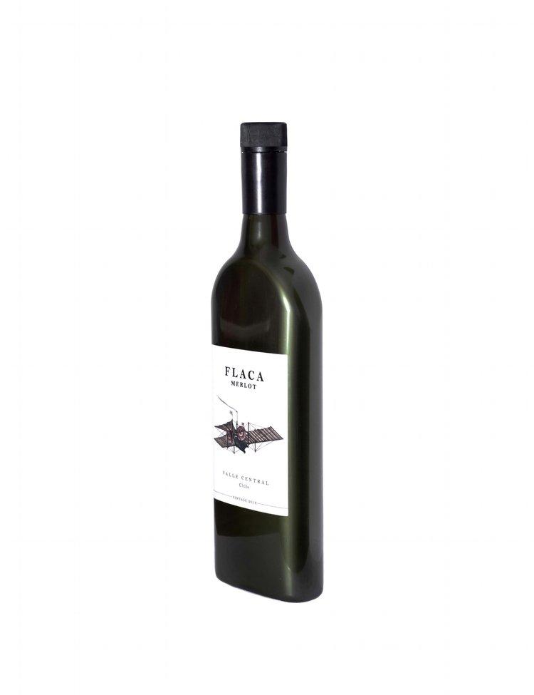 Garçon Wines Merlot Flaca Chile angle - Une bouteille de vin pour boîte aux lettres