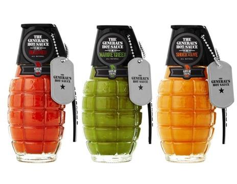 Sans titre 11 - Des grenades de sauces explosives