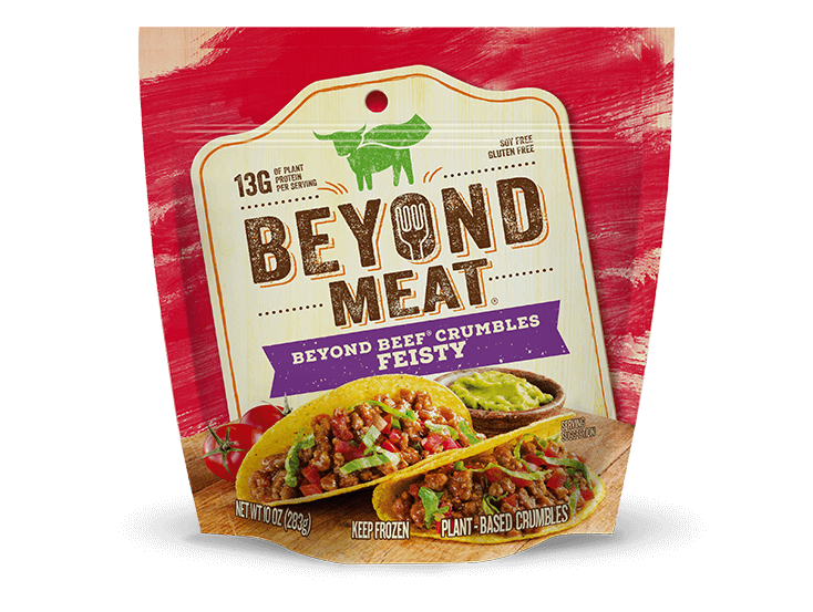 homepage product beyondcrumbles feisty desktop - La viande végétale de Beyond Meat attaque le marché européen