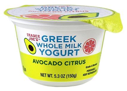 1 1 - Le yaourt grec à l'avocat