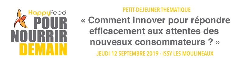 """banniere - Petit-déjeuner : """"Comment innover pour répondre efficacement aux attentes des nouveaux consommateurs ?"""""""