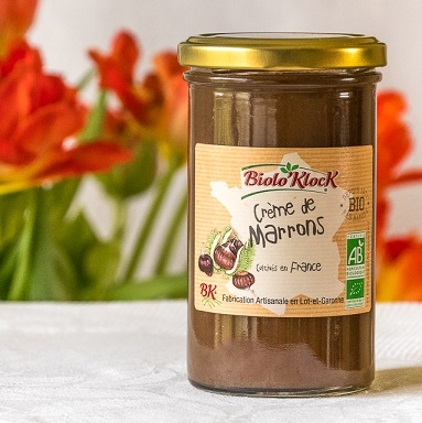 crème de marrons pot tulipes  - Interview de David Klockenbring, fondateur de Biolo'Klock