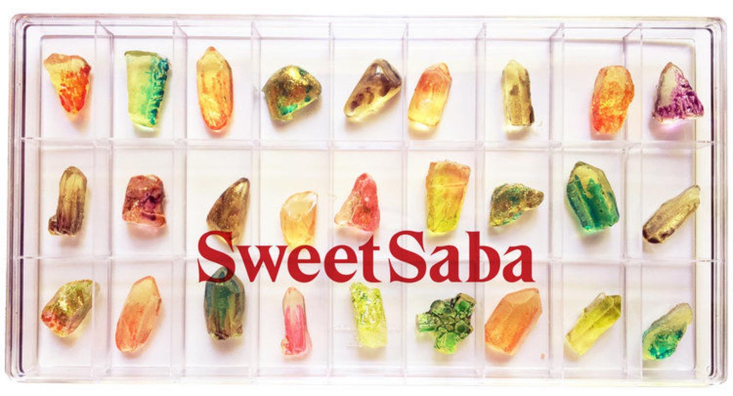 Sans titre 29 - Des bonbons comme des cristaux