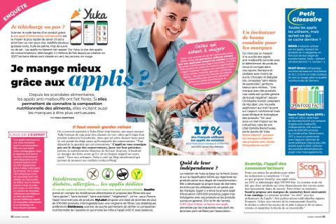 Capture d'écran 2019 08 14 à 11.38.00 480x320 - Avis d'expert dans le dossier « Je mange mieux grâce aux applis ? » de Cuisine Actuelle
