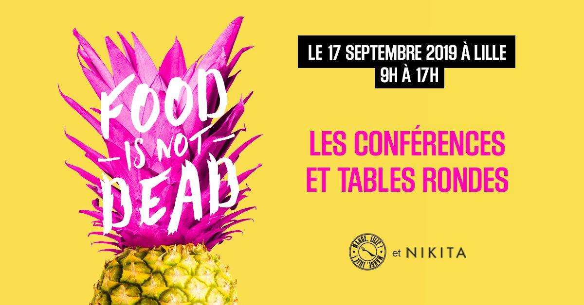 shared link VF - Food is not dead, l'évènement inspirant pour les acteurs de l'alimentation