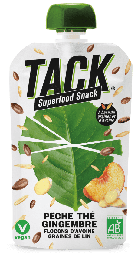 tack ginger - La révolution du petit déjeuner avec TACK® Superfood Snack