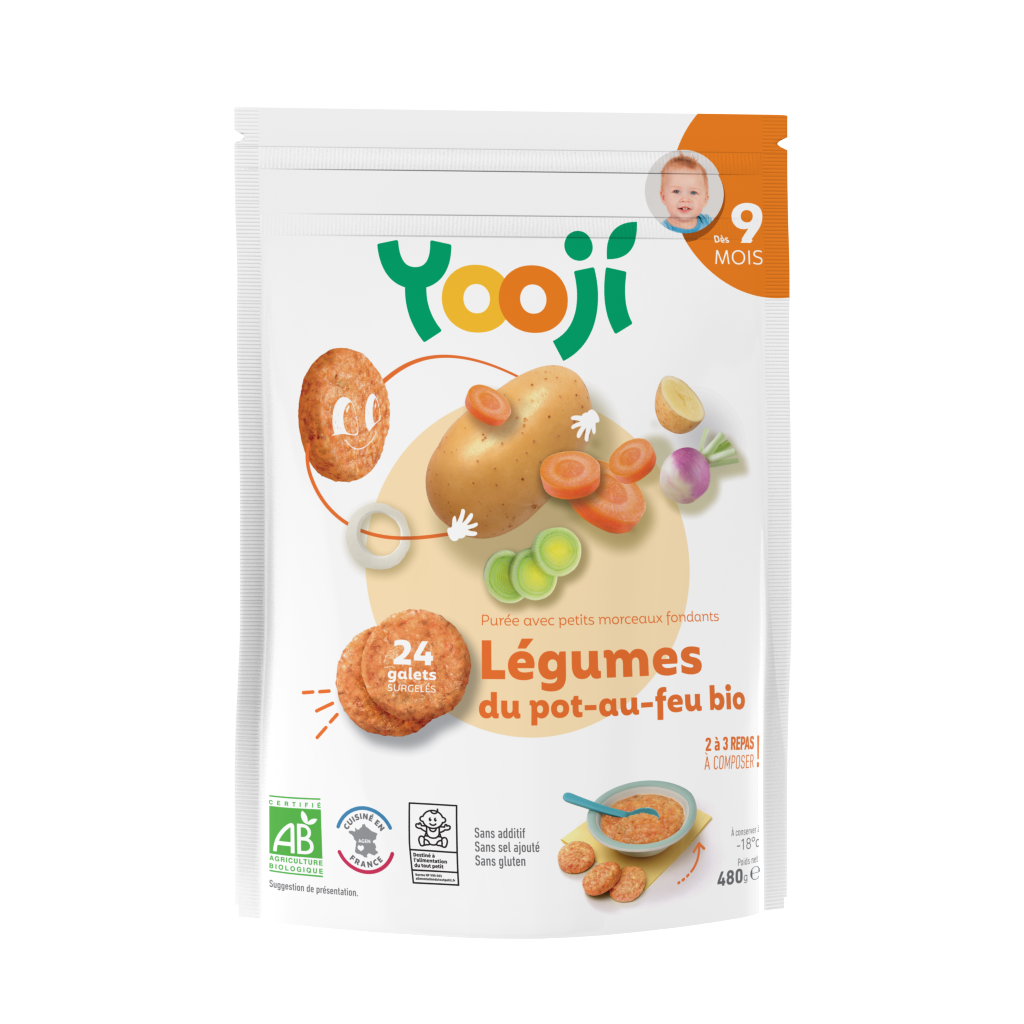 3760234500291 xkn - Le pot-au-feu bio de Yooji, un repas de gourmet pour bébé