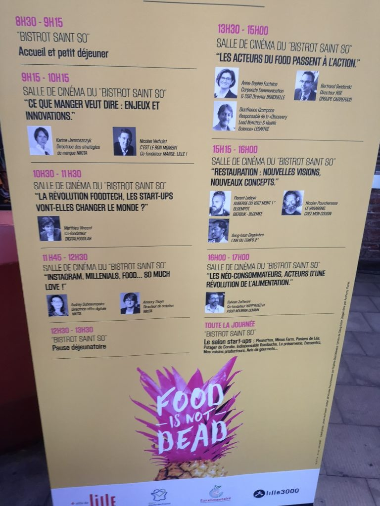 "IMG 20190917 093906 768x1024 - Intervention ""Food is not dead"" lors du festival Mange Lille"