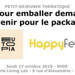 """eutopia 150x150 - Petit-déjeuner thématique : """"Pour emballer demain : quel avenir pour le packaging ?"""""""