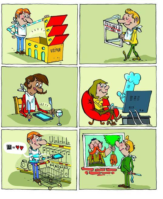 """000370781 5 - Intervention dans le dossier """"Comment bien communiquer sur le manger sain ?"""" du magazine LSA"""