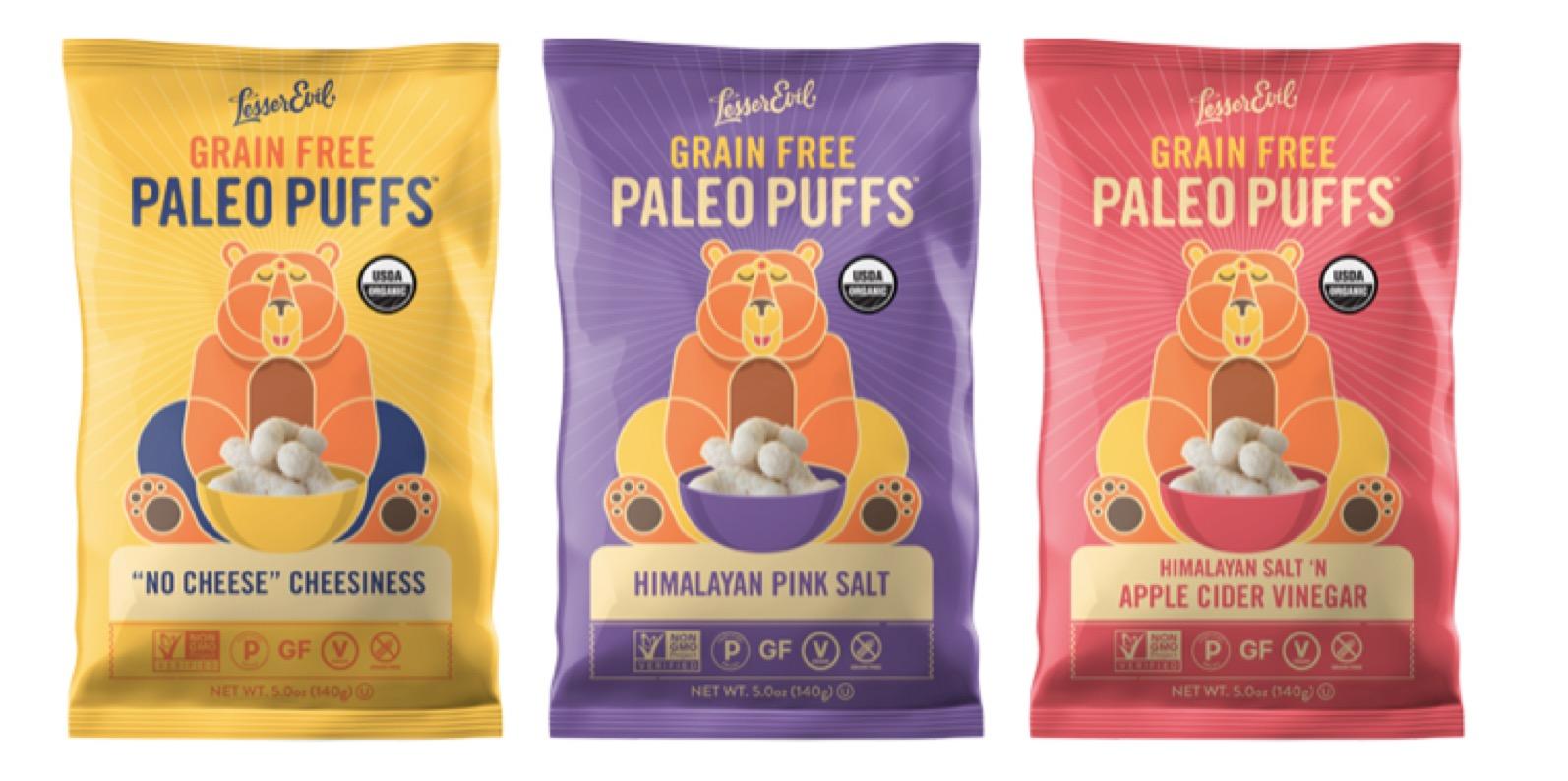 3 - Paléo : des biscuits soufflés sans céréales