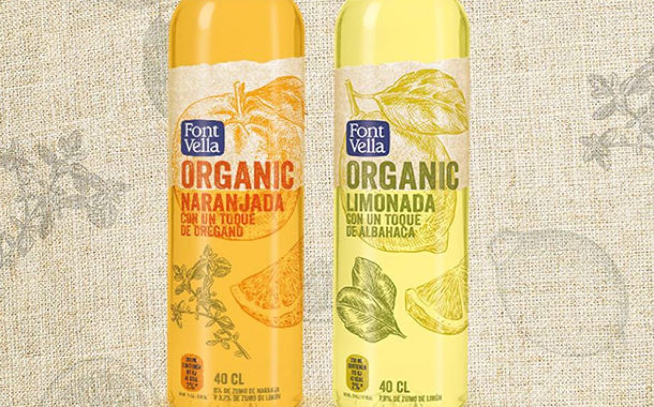 2 1 - Danone lance des boissons biologiques aromatisées