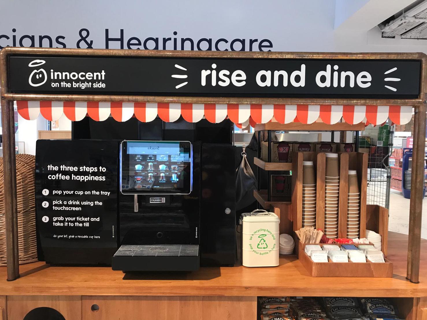 2 3 - innocent teste le concept « rise & dine » à Londres