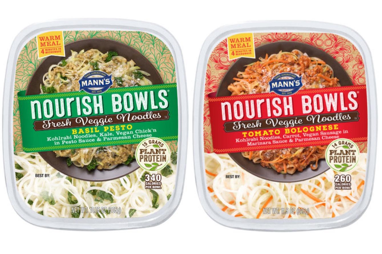 2 - Des nouilles de légumes cuisinées et prêtes à manger