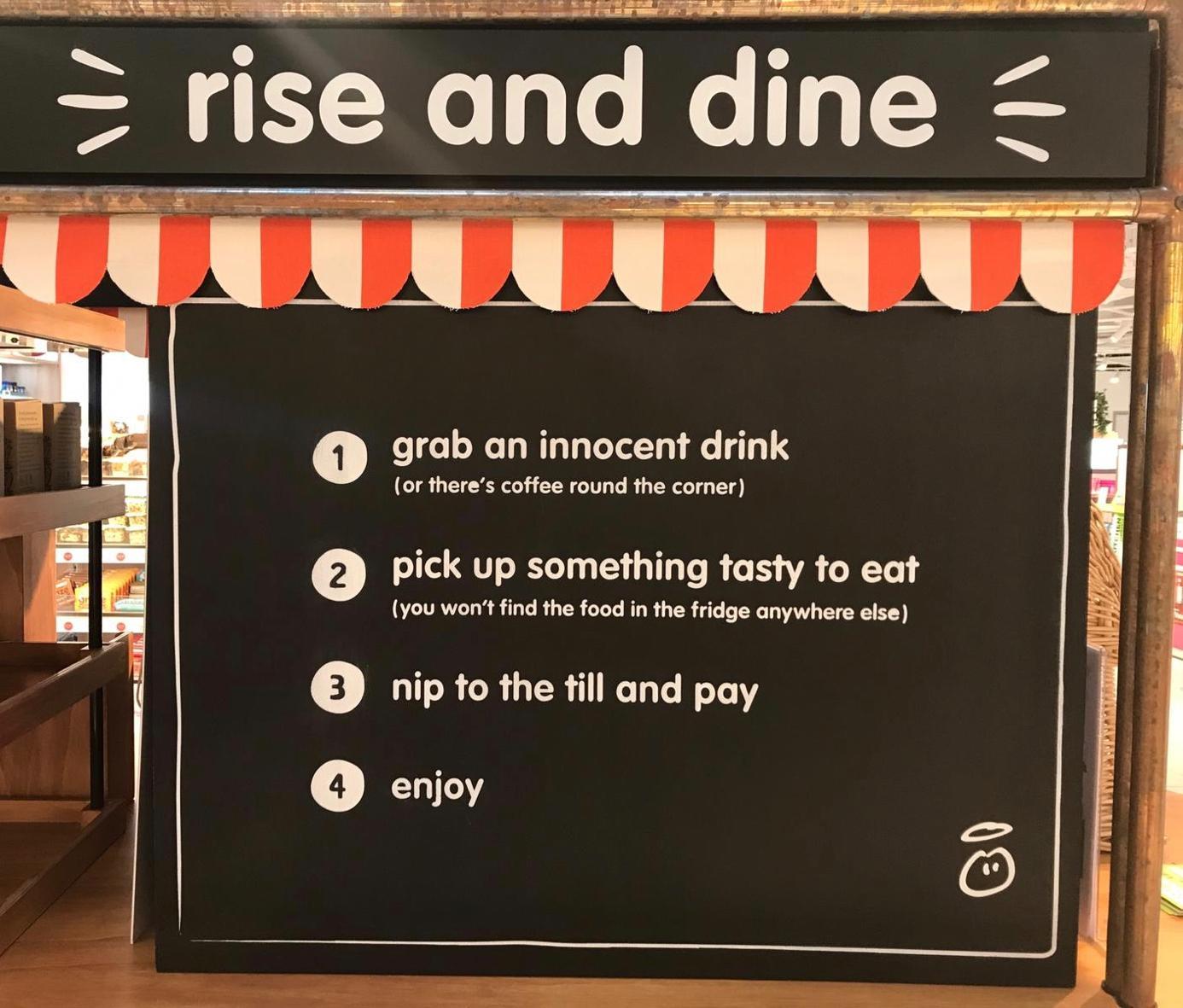 4 3 - innocent teste le concept « rise & dine » à Londres