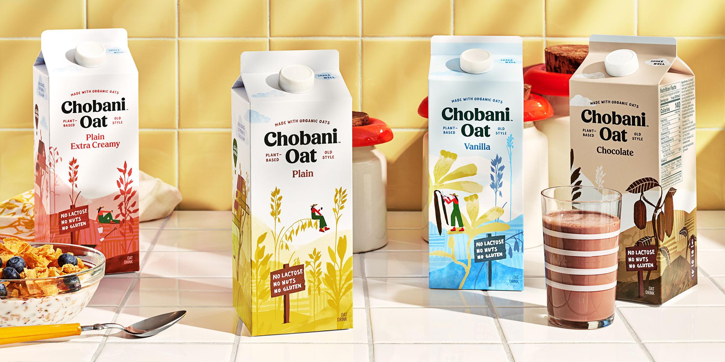 chobani milk main tease ce6a2818c0ee034947b91d4d497ffbc8 - Chobani sort de sa zone de confort pour se lancer dans une nouvelle catégorie de produits !