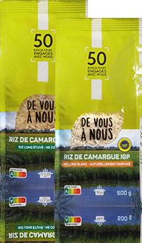 riz de camargue fabrication francaise paquet 500g - DE VOUS A NOUS, le chemin le plus court pour mieux consommer