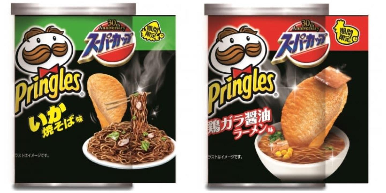 3 2 - Le ramen au Pringles