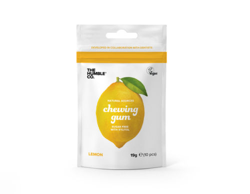 chewing gum lemon 500x388 1 - The Humble Co, en avant mâche !