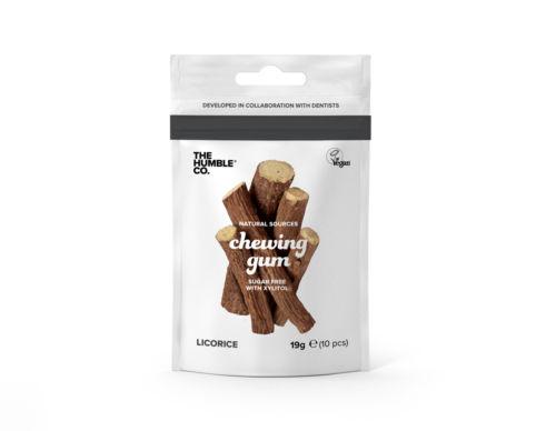 chewing gum licorice 500x388 1 - The Humble Co, en avant mâche !