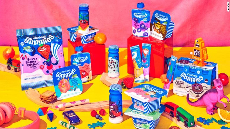 1 3 - Une nouvelle gamme de yaourts pour les enfants