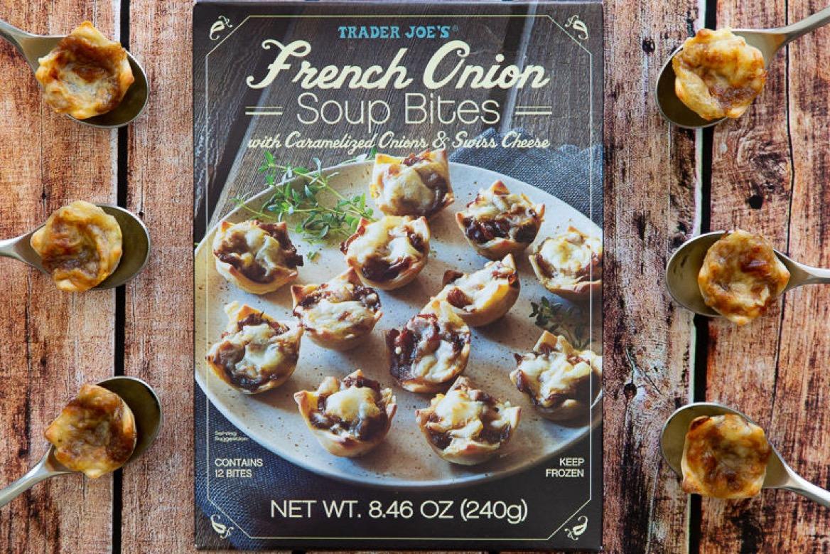 3 1 - Des bouchées de soupe à l'oignon