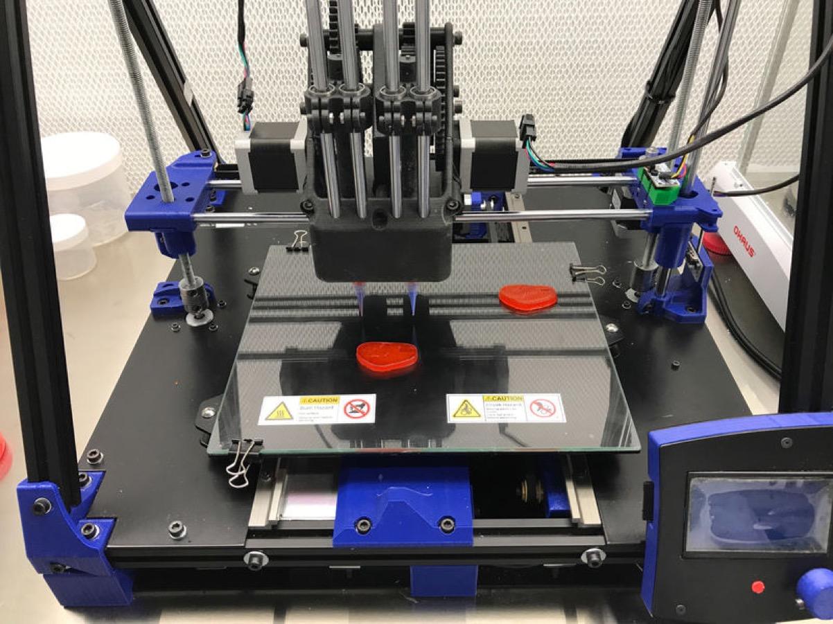 4 2 - Une imprimante 3D de viande végétale