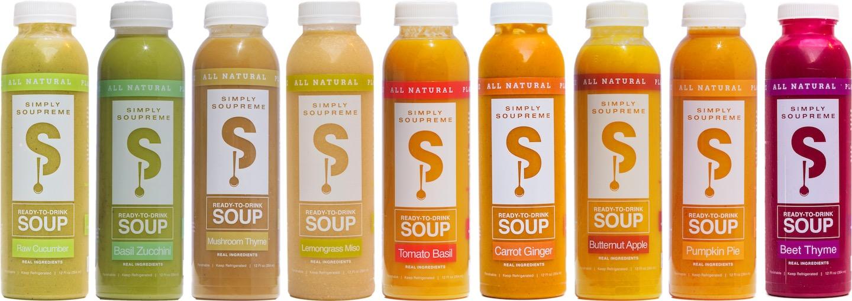 4 - Des soupes prêtes à boire