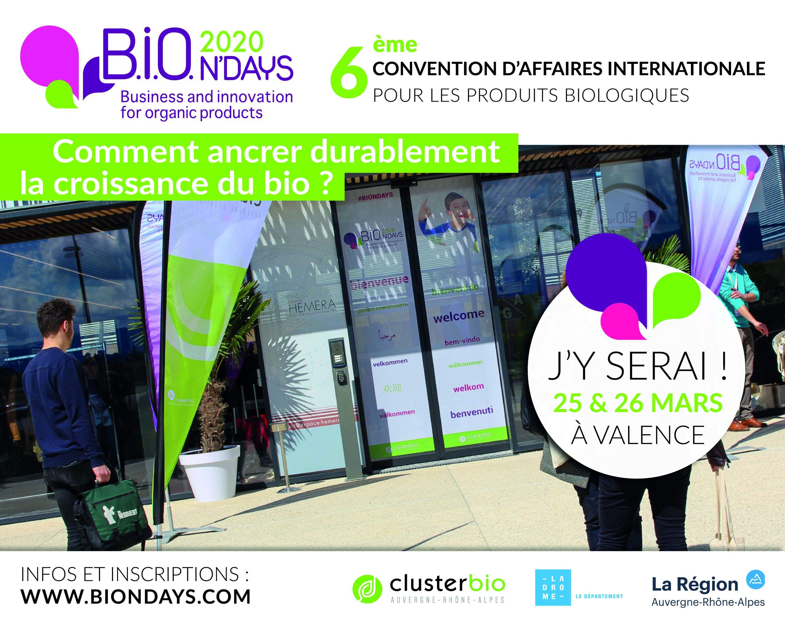 BIONDAYS 2020 Jyserai scaled - 6ème édition des B.i.O.N'Days : comment ancrer durablement la croissance du BIO