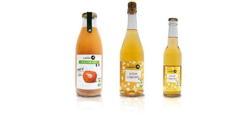antares jus - Verger de la Blottière dévoile quatre jus 100% fruits certifiés Vergers Écoresponsables et Demain la Terre