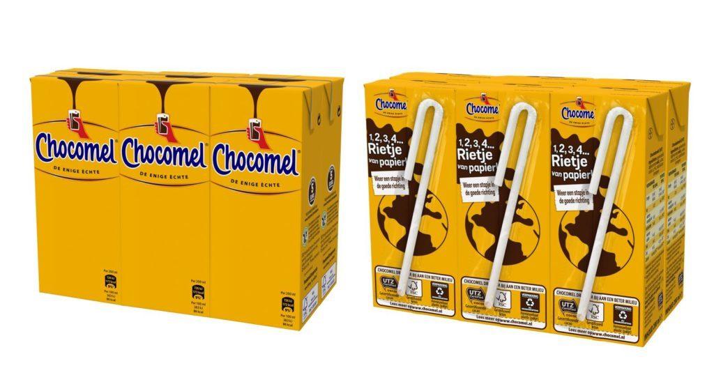 frieslandcampina switches to sustainable paper straws 1024x538 1024x538 c default - Des pailles en papier pour les briques de lait