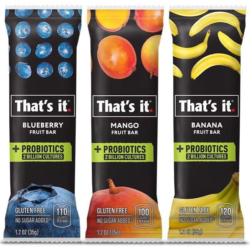 1 1 - Des barres de fruits probiotiques
